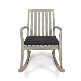 Schorr Rocking Chair by Gracie Oaks