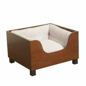 Decorative Wood Cot Dog Bed