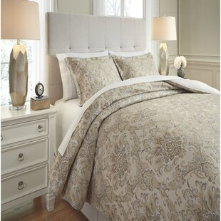 Astoria Grand Mulhern 3 Piece Comforter Set