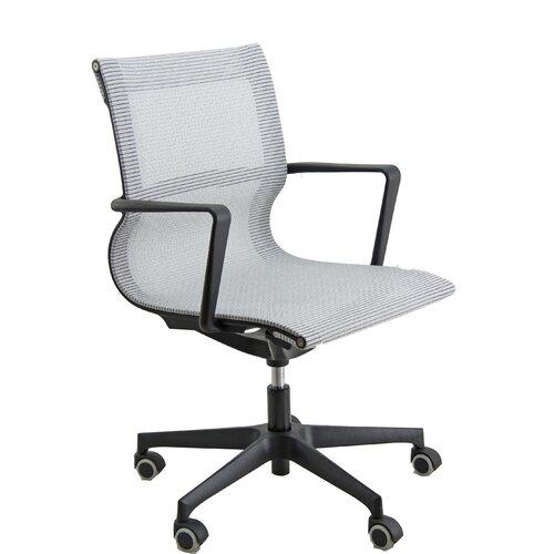 Bürodrehstuhl Kissell Ebern Designs Polsterfarbe: Grau   Büro > Bürostühle und Sessel  > Bürostühle   Ebern Designs