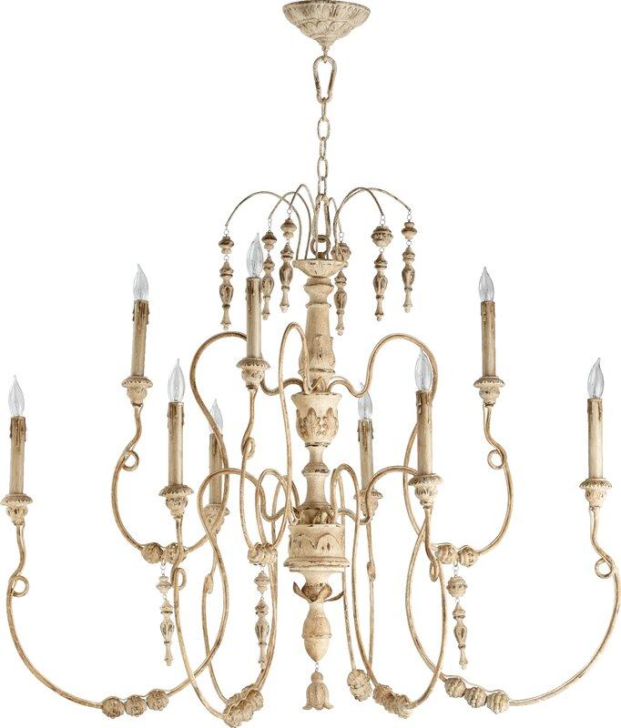 Paladino 9-Light Candle-Style Chandelier