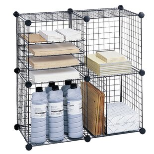 Safco Products Company Wire Cube Unit Bookcase