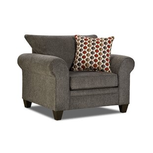 Degory Armchair  by Simmons Upholstery by Alcott Hill