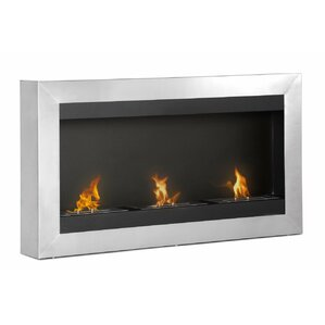 Magnum Wall Mount Ethanol Fireplace by Ignis Products