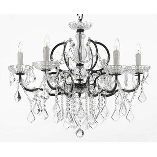Rosdorf Park Clemence 6-Light Chain Candl..