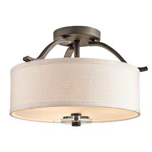 Leighton 3-Light Semi Flush Mount