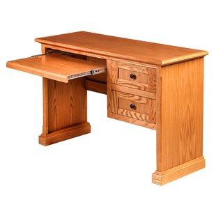 Torin Knob Computer Desk by Millwood Pines Best Design