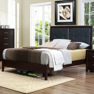 Edina Upholstered Panel Bed by Woodhaven Hill