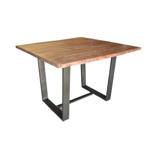 Kourtney Counter Height Solid Wood Dining Table by Union Rustic
