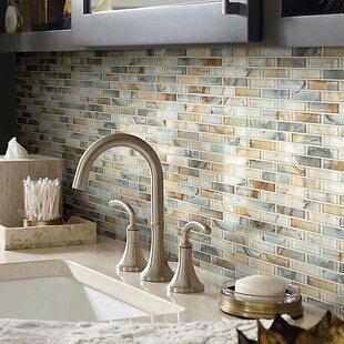 Neptune 1 X 4 Gl Mosaic Tile In Gilt