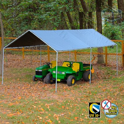 King 10.6 Ft. x 20 Ft. Canopy King Canopy