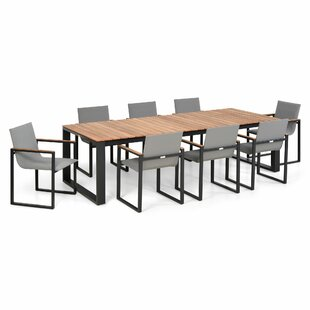 Jaleel 8 Seater Dining Set By Sol 72 Outdoor