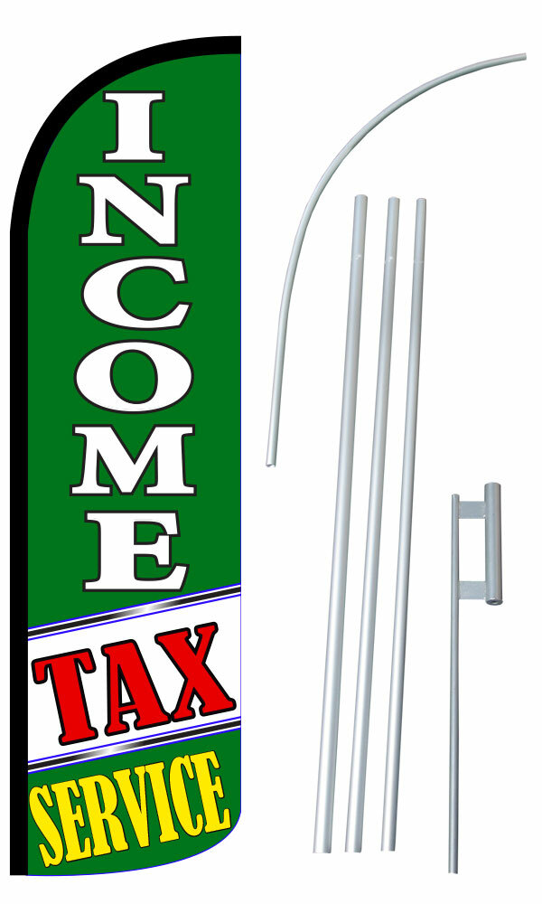 Neoplex Income Tax Service Polyester 180 X 30 In Flag Set Wayfair