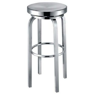 Lucah 30 Swivel Bar Stool Latitude Run