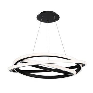 Modern Forms Veloce 1-Light LED Geometric Chandelier