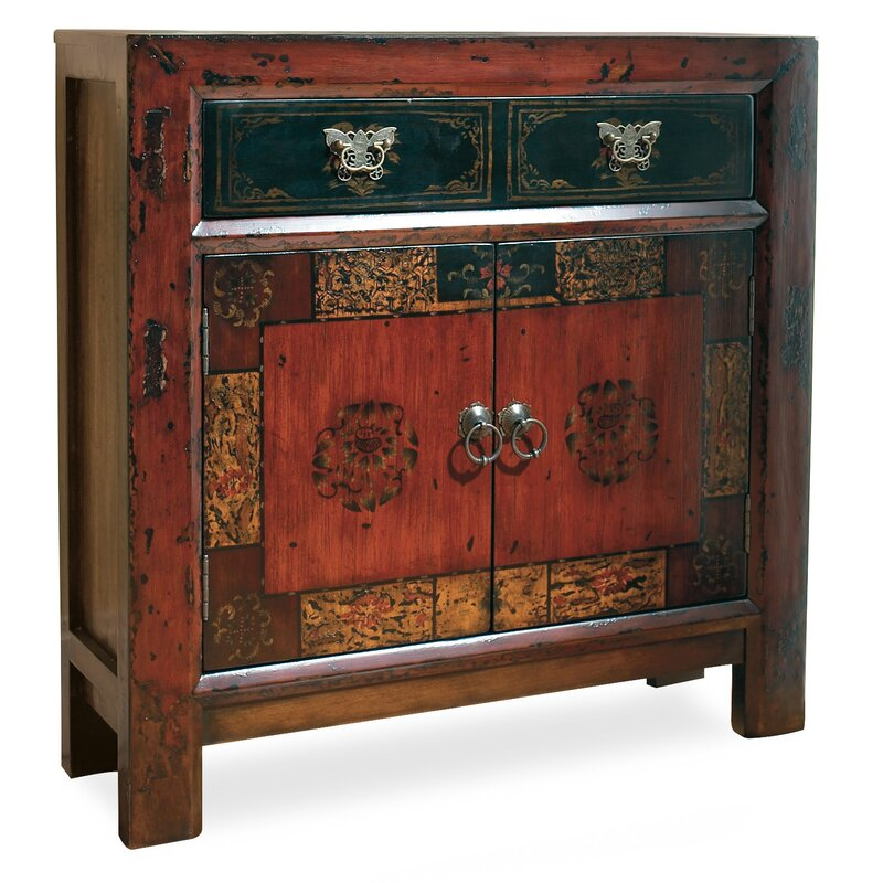 exciting hall cabinets furniture | Hooker Furniture Asian 2 Door/1 Drawer Hall Accent Cabinet ...