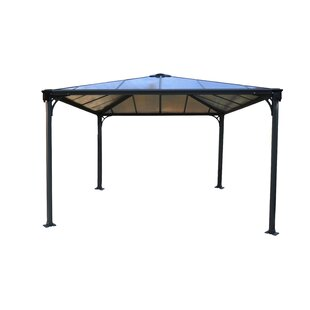Palermo? 12 Ft. W x 12 Ft. D Aluminum Patio Gazebo by Palram