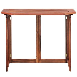 Burden Folding Wooden Balcony Table Image