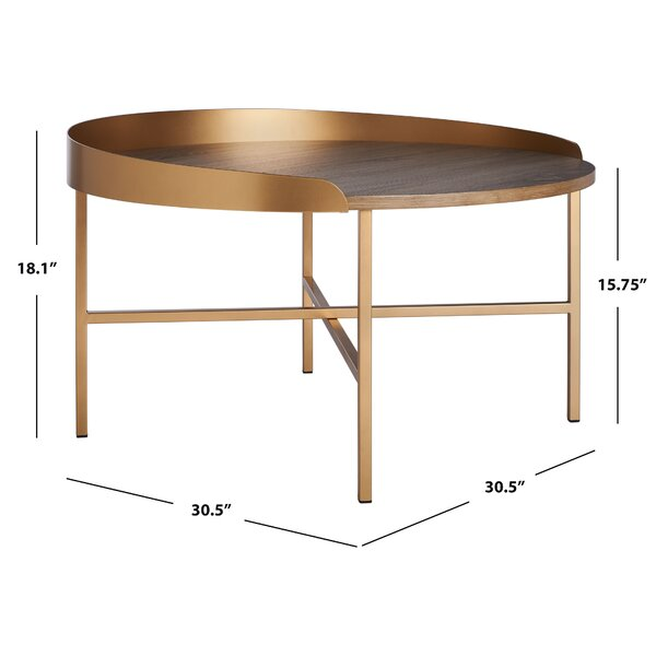 Everly Quinn Martinelli Coffee Table Wayfair