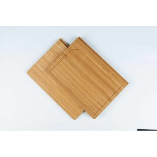 Bamboo Cutting Board by Minimum & Maximum Inc.