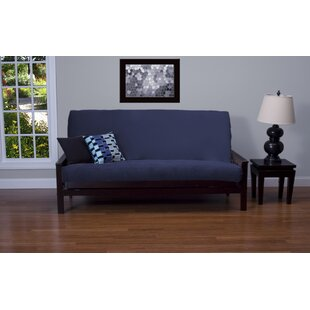 Arterbury Box Cushion Futon Slipcover by Darby Home Co 2019 Sale