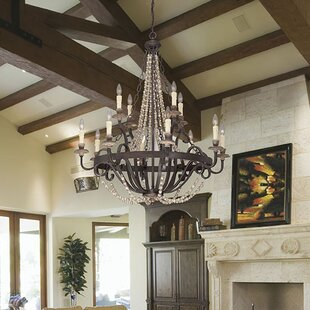 Birch Lane™ 12-Light Candle Style Chandelier