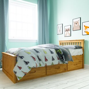Single Cabin Mate's and Captain's Bed Frame with Storage