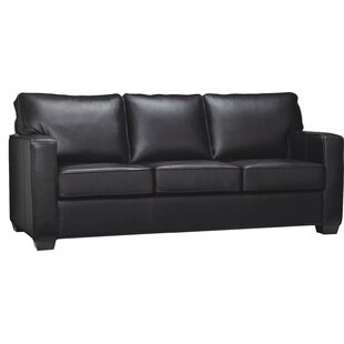 Red Barrel Studio Mcnemar Leather Sleeper Sofa