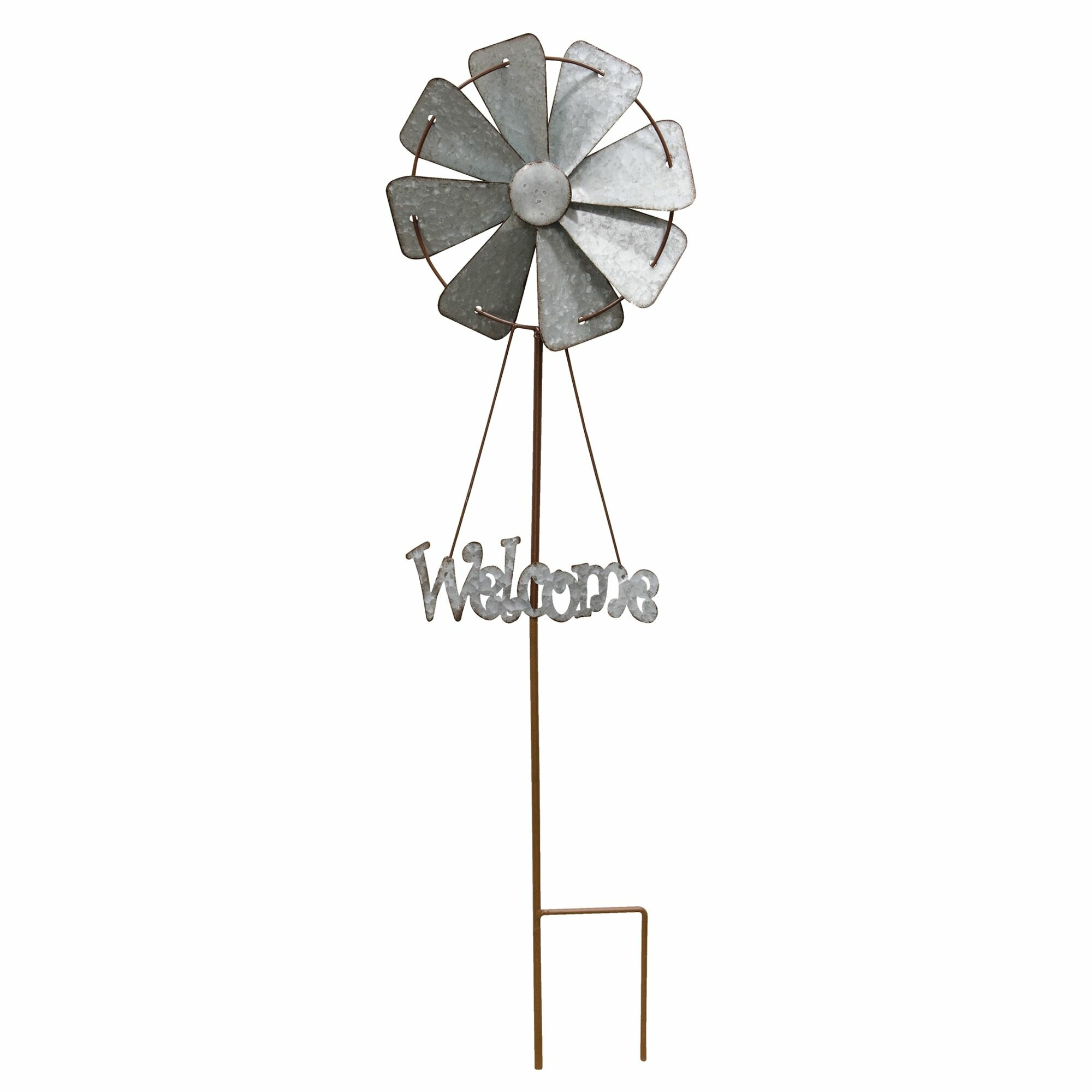 Willard Welcome Windmill Yard Garden Stake