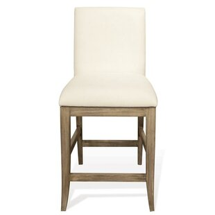 Almazan Upholstery 24 Bar Stool (Set of 2) One Allium Way