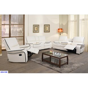 Latitude Run Cilla 3 Piece Reclining Livi..