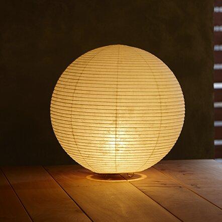 Asano paper sphere moon 12 table lamp reviews wayfair paper sphere moon 12 table lamp mozeypictures Gallery