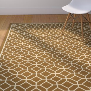 Liza Brown/Ivory Indoor/Outdoor Area Rug