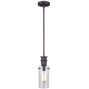 Dayna 1-Light Cylinder Pendant by Williston Forge