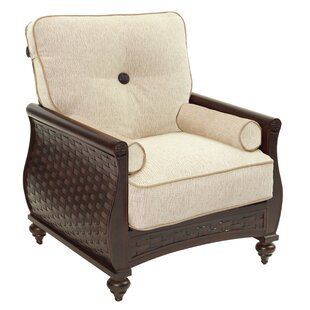 Leona French Quarter Patio Chair with Cus..