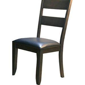 Alder Ladderback Upholstered Side Chair b..