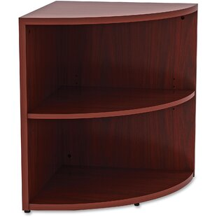 Lorell Essentials Corner Unit Bookcase