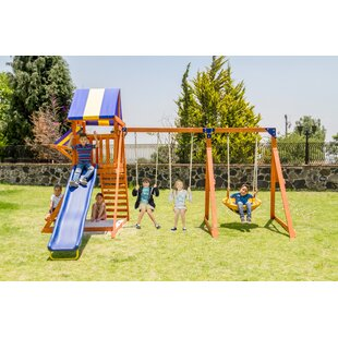Willow Creek Wooden Swing Set by Sportspower