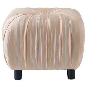 House of Hampton Eglantine Beaded Decorative Ottoman Image
