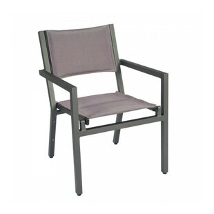 Palm Coast Sling Stacking Patio Dining Chair