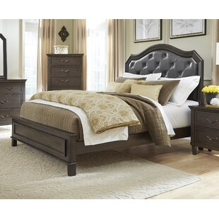 Holderman Upholstered Panel Bed by Alcott Hill