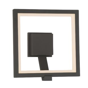 Stoke Bishop Modern LED Wall Mount Outdoor Sconce by Orren Ellis