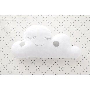 Swindle Cloud Felt Throw Pillow