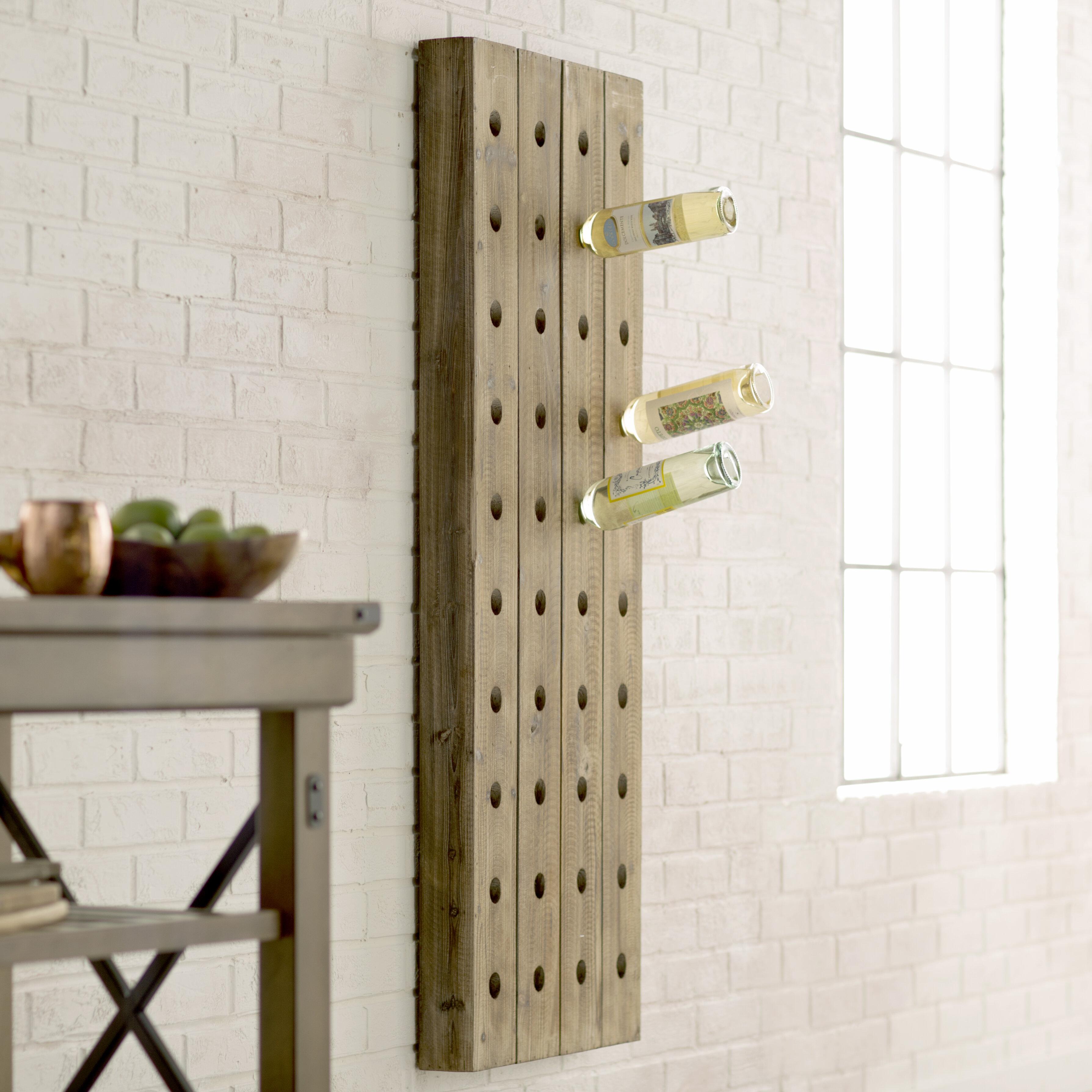 bottle wine tabletop ll bondville love mounted rack mount wayfair wall kitchen you racks