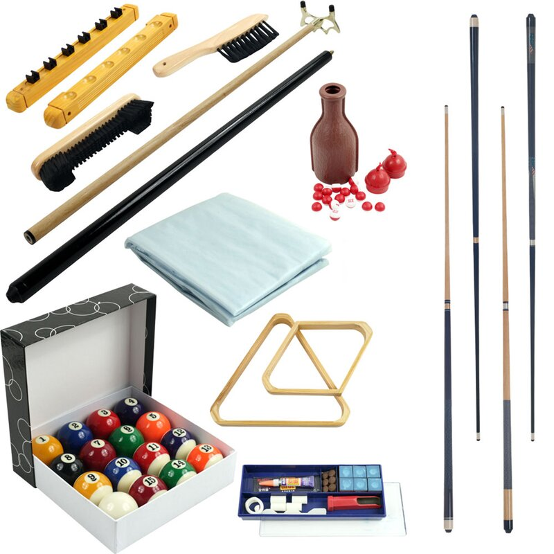 32 Piece Pool Table Accessory Kit Reviews Wayfair