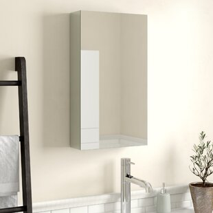 Antonelli 40cm X 70.3cm Surface Mount Mirror Cabinet By Mercury Row
