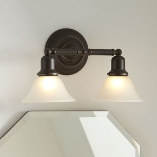 Best Reviews Arlington 2-Light Vanity Light By Birch Lane™