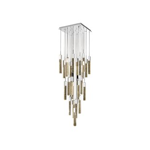 Keating 25-Light Cascade Pendant by Orren Ellis
