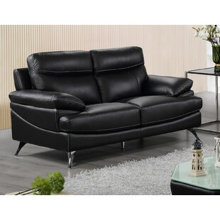 Leather Loveseat by Best Quali..
