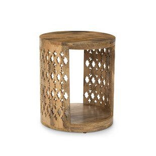 Redrick End Table by Bloomsbury Market